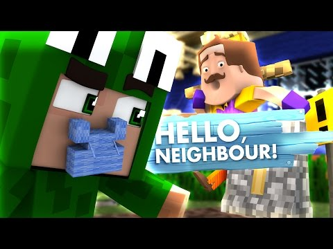 Minecraft Baby Hello Neighbour THE NEIGHBOUR MURDERED AND BURIED SOMEONE