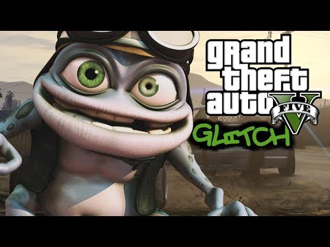 GTA Online Glitches Crazy Frog Invisible Motorcycle