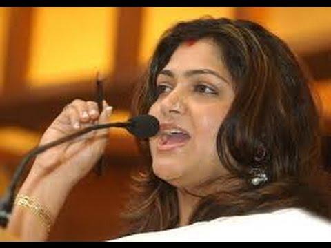 Xxx Mp4 Kushboo Comments On Rajinikanth Political Entry Congress Hot Cinema News 3gp Sex