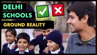 Ground Reality of Delhi Govt Schools | Jumla or Truth? | By Dhruv Rathee