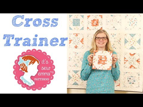 Cross Trainer - Little P by It's Sew Emma - Fat Quarter Shop