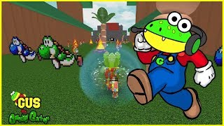 Let's Play Roblox Games Mario Obby and Escape from Grandma!