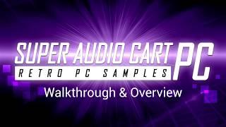 Super Audio Cart PC: Retro Computer Samples (Demo & Walkthrough)