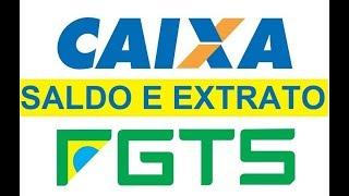 FGTS SALDO ATIVO ONLINE NA CAIXA 2017 - 2018    COMO FAZER A CONSULTA DO EXTRATO DO FGTS