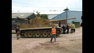 Легендарный танк Tiger -131,единственный рабочий Тигр в мире I (все серии HD 2017)