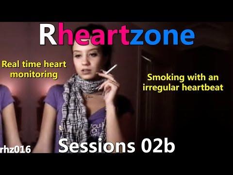 Rhz016 Rheartzone - Smoking Irregular Heartbeat (female) Session 02b