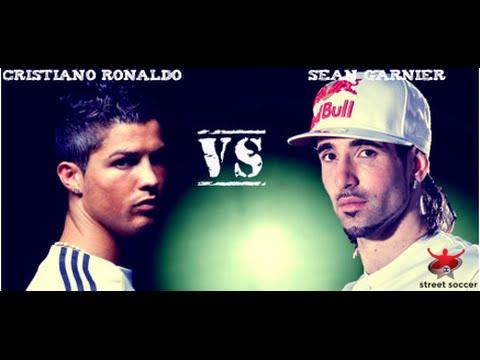Cristiano Ronaldo VS sean garnier street performance