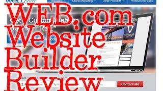 Web.com Website Builder - Do It Yourself - REVIEW and Walkthrough