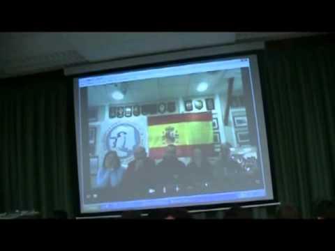 Vídeoconferencia da BAE Española Gabriel de Castilla co CPI Conde de Fenosa
