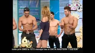 doing the splits   morning show live tv