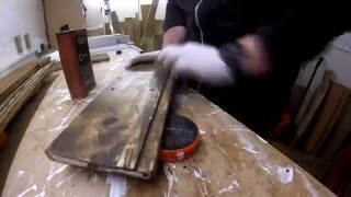 Building a Pallet Wood Bathroom Wall Cabinet