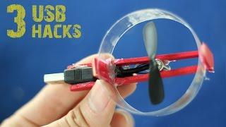 3 incredible usb gadgets you can make at home  life hacks