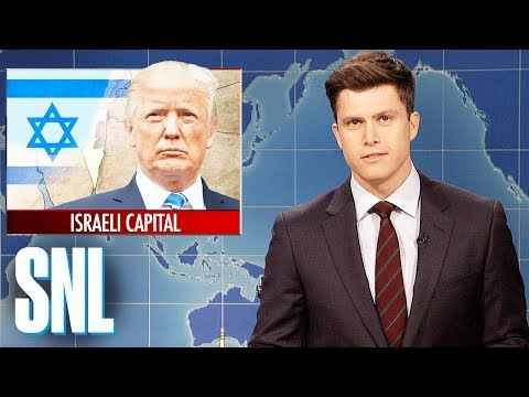 Weekend Update on Trump Recognizing Jerusalem as Israeli Capital SNL