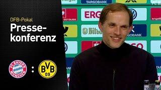 Pressekonferenz mit Thomas Tuchel | FC Bayern München - BVB 2:3