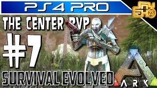 ARK OFFICIAL PVP on PS4 - EP 7 - VAULT RAID AND MASTERCRAFT LOOT!!!
