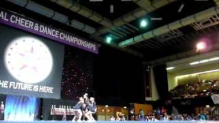 London Rockets all-girl level 5 Future Cheer Nationals 2009