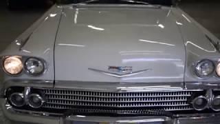1958 Chevrolet Impala V8 Auto Skirts Exhaust CD Power Steering NICE