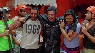 Mithun Chakraborty's kids couldn't recognize his bum - Golmaal 3
