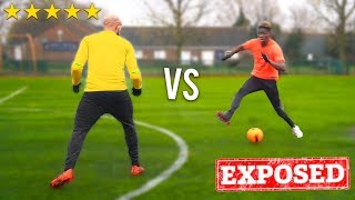 I Called Out The Freestyle WORLD CHAMPION To A Soccer Competition.. I GOT EXPOSED