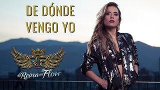 De dónde vengo yo - Yeimy (Gelo Arango) La Reina del Flow 🎶 Canción oficial - Letra   Caracol TV