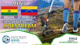Bolivia v Venezuela | 2018 Men's Hockey Series Open | FULL MATCH LIVESTREAM