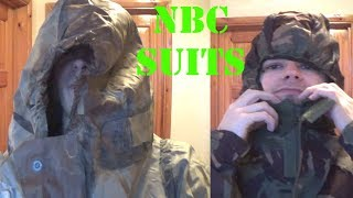 NBC/CBRN Suits Rubber VS Fabric
