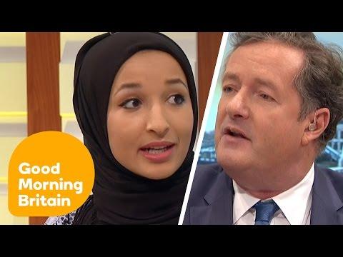 Xxx Mp4 Piers Morgan Debates Headscarf Ban With Muslim Women Good Morning Britain 3gp Sex
