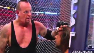Undertaker vs Triple H Hell In A Cell Match Wrestlemania 28