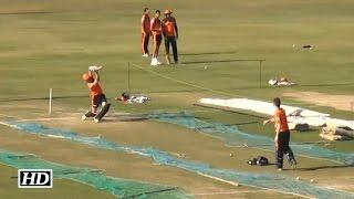 IPL 9 GL vs SRH: Sunrisers Hyderabad Training In Nets