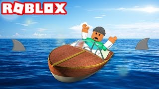 CAN YOU SURVIVE ON A BOAT IN ROBLOX!?
