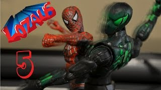 SPIDERMAN Stop Motion Action Video Part 5