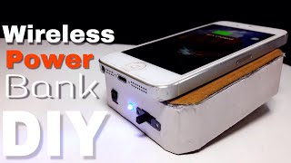 How to make a wireless power bank (DIY)