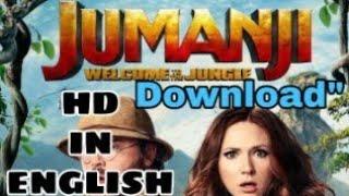 "#Jumaji: Welcome to the jungle""[FULL MOVIE] HD download"