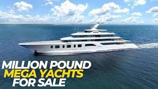 Million Pound Mega Yachts For Sale - Documentary 2020