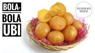 RESEP Bola-bola Ubi * Sweet Potato Balls (Indonesian Street Food)