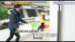 [Running Man] Jihyo Shocked because of Lee Seung-gi