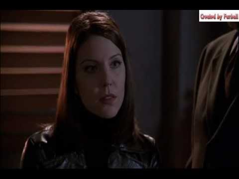 Andrea Parker various leather outfits