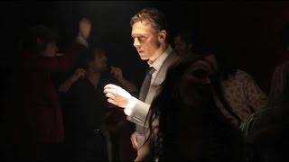 Luke Evans and Tom Hiddleston Dancing - BTS of High-Rise