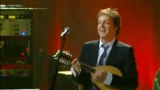 Paul McCartney Live At The Olympia, Paris, France (Monday 22nd October 2007)