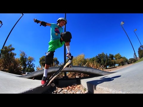 10 YEAR OLD GIRL LEARNS TO SKATEBOARD | EP 1 GAP OLLIE