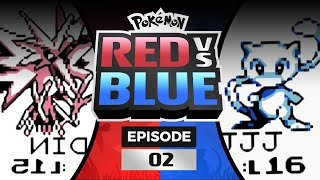 Pokemon Red and Blue Versus - EP 02   The First Gym!