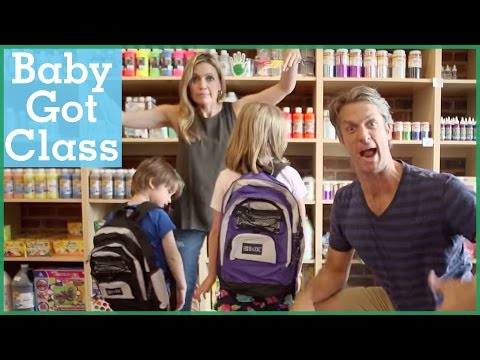 Baby Got Class -- A back to school parody   The Holderness Family