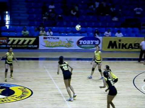 Alyssa Valdez of UST GVT The future star of UST WVT