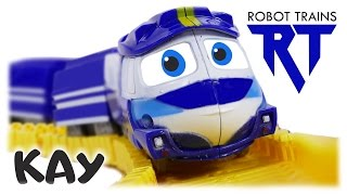 TRAINS FOR CHILDREN VIDEO: Robot Trains (로봇트레인) Kay Splicing Rail Toys for Kids Review
