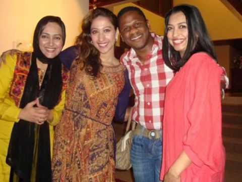 Mehar Bukhari Sama TV & Asma Sherazi ARY Caugth Party American Embassy Pakistan