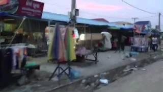 Life along the railroad tracks between Pochentong and Tuol Kok - Video by Ms. Theary Seng