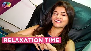 Nail Spa with Rubina Dilak aka Soumya from Shakti - Astitva Ke Ehsaas Ki