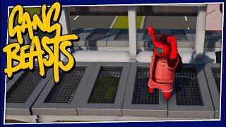 Gang Beasts - #212 - Tickle Monster