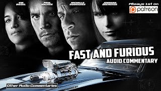 Fast and Furious 4 Audio Commentary