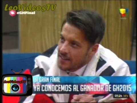 Francisco es el Ganador de Gran Hermano 2015 Matias sale